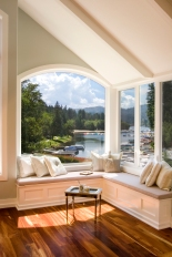 Bedroom Window Seat - Lake Arrowhead 1