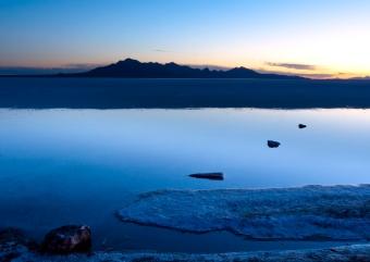 Bonneville Salt Flats Sunr