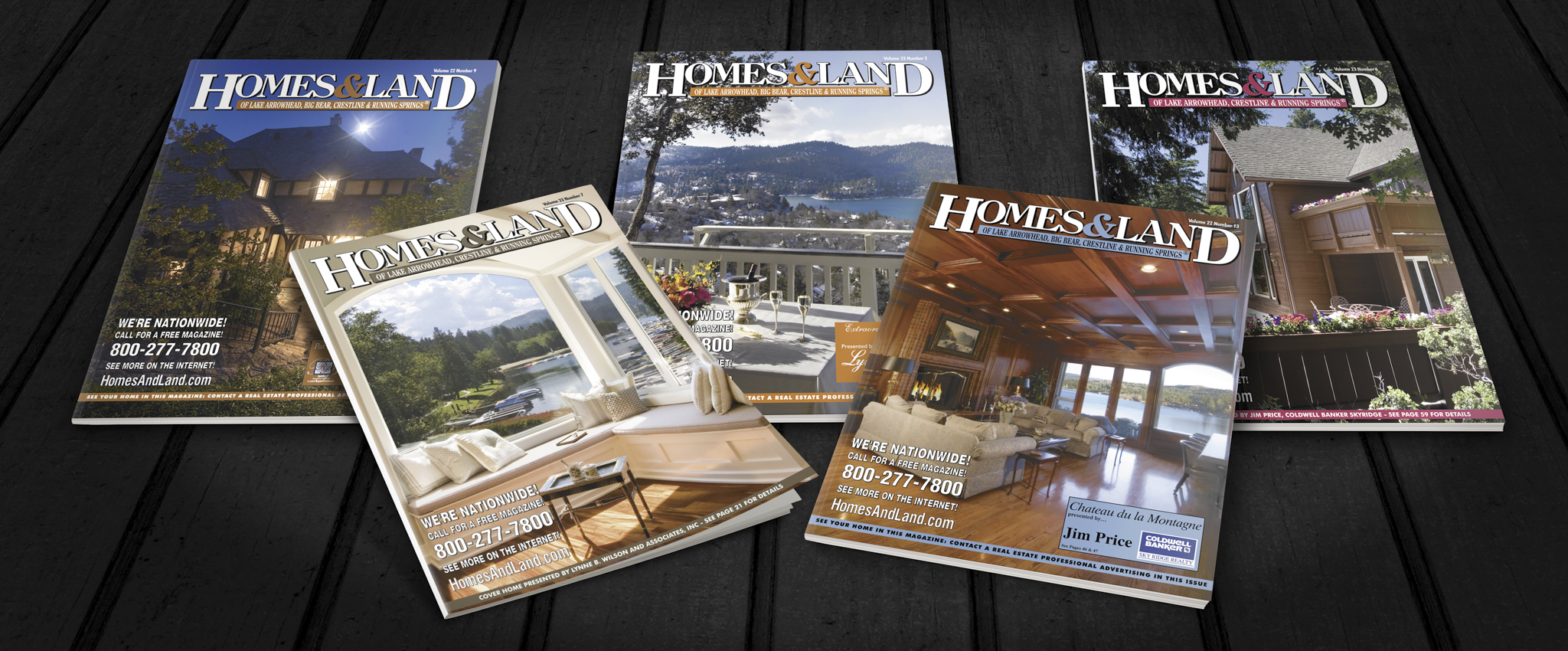 homes & land magazine – ryan hoover photography