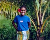 Young Girl - Vatuvonu, Vanua Levu Island, Fiji