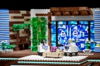 Ellen Stage made from LEGOS